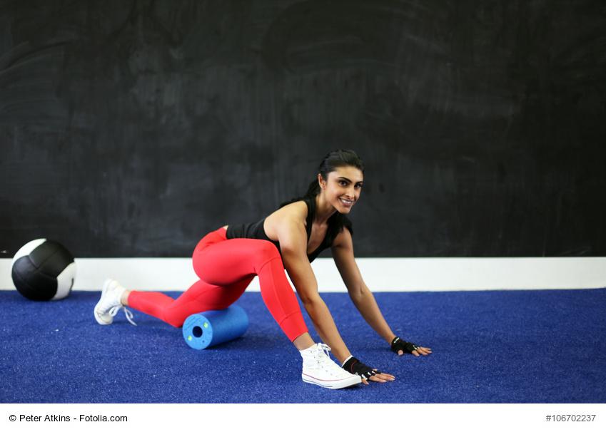 Faszienmassage sorgt für mehr Beweglichkeit