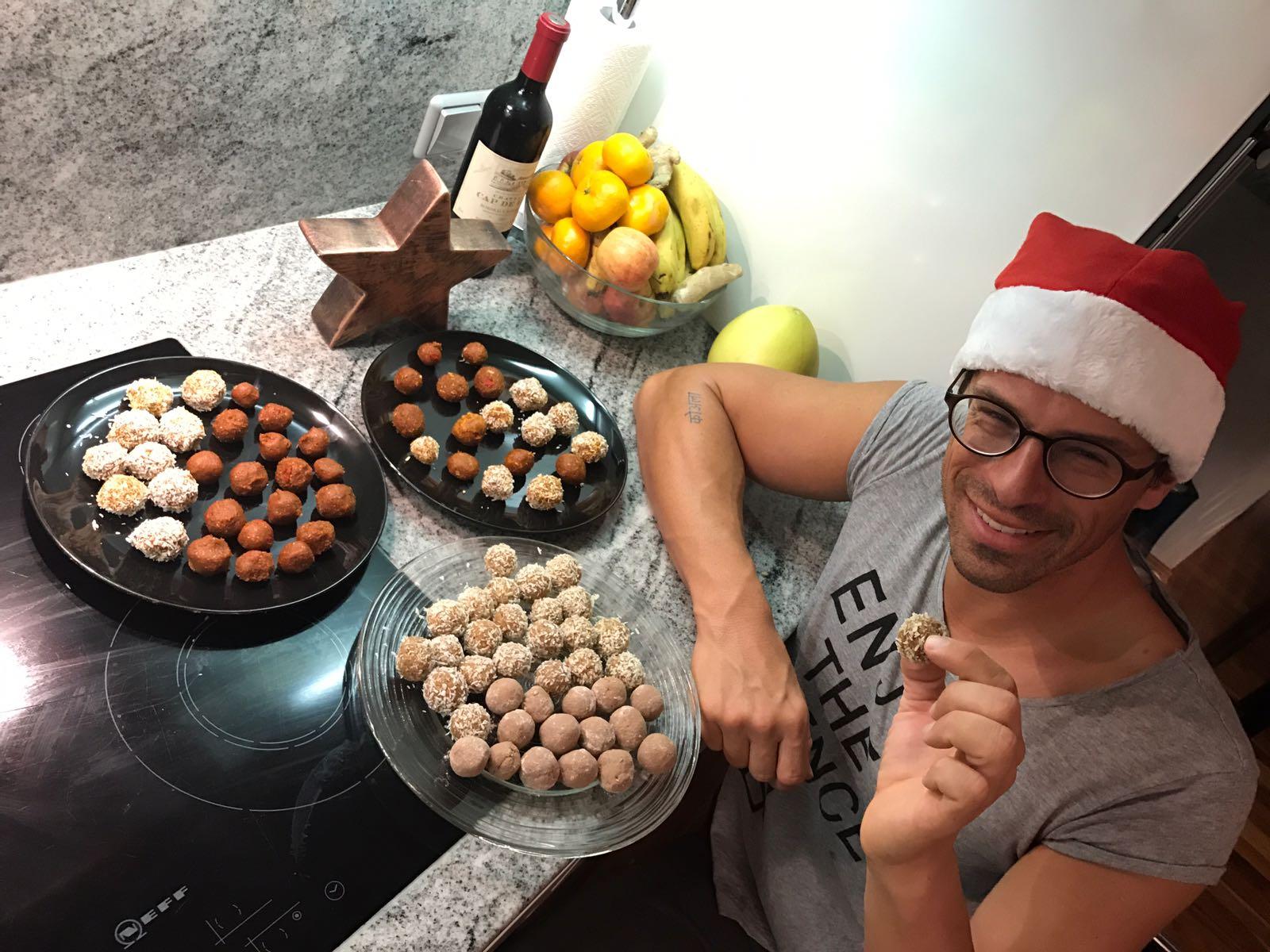 Weihnachten, Rezept, Energy Balls, Kekse, fettarm, gesund
