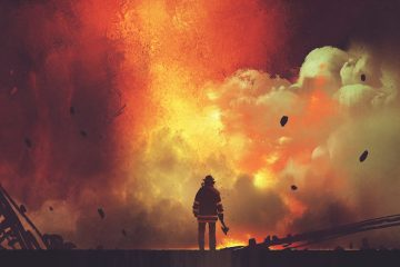 Toni Klein, Feuerwehr, Helden, Gesellschaft, Leben